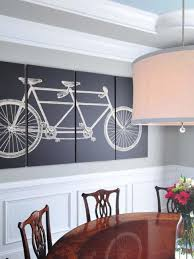 how to paint a wall mural 15 dining room decorating ideas hgtv