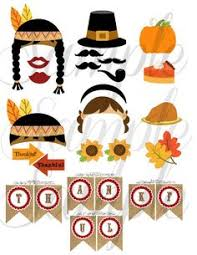 instant thanksgiving photo booth props make it easy