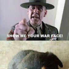 War Face Meme - show me your war face by dark nevermore meme center