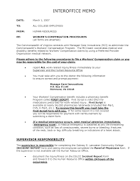 example of an interoffice memo sample of reference letter for job