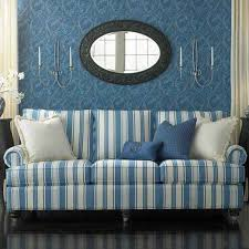 Country Slipcovers For Sofas Blue And White Striped Sofa Blue Sofa Pinterest Sofa