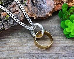 vintage fish ring holder images Ring holder necklace etsy jpg