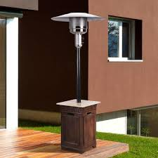 Commercial Patio Heaters Propane Bond Manufacturing Sonoma 40 000 Btu Envirostone And Travertine