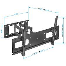 full motion corner tv wall mount heavy duty full motion tv wall mount for 37