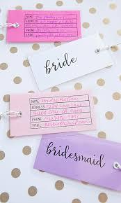 wedding luggage tags how to make adorable wedding luggage tags
