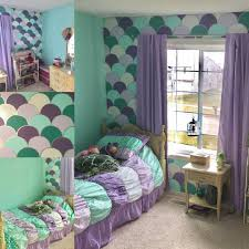 Little Mermaid Window Curtains by Get Inspired To Create An Unique Bedroom For Little Girls With