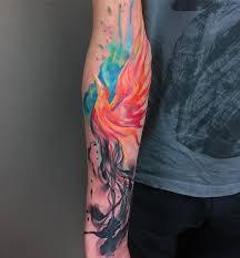 best 25 watercolor phoenix tattoo ideas on pinterest phoenix