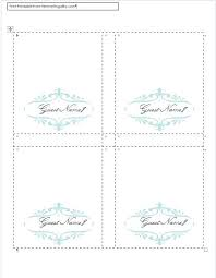 table tent template publisher table card template best place card template ideas on free place
