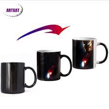 11oz new design movie color changing magic mugs heat sensitive