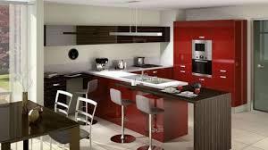 habitat cuisine cuisine ouverte light par cuisinella laquée http m