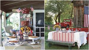 Fourth Of July Table Decoration Ideas Fourth Of July Pinterest Crafts Festive Decorations And Recipes