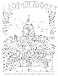 washington dc coloring pages coloring home
