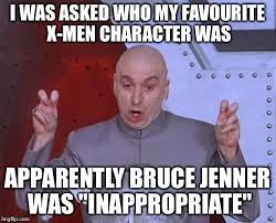 Gif Meme Maker - dr evil laser i was asked who my favourite x men character was