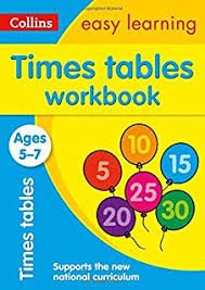 times tables ages 5 7 new edition collins easy learning ks1