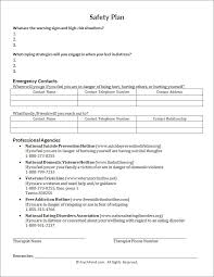safety plan worksheet psychpoint