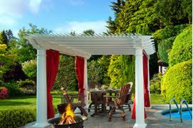 Curtains For Pergola Pergola Cleveland Oh Valley City Supply