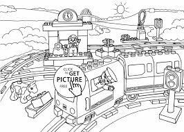 funny cartoon train coloring page for toddlers transportation