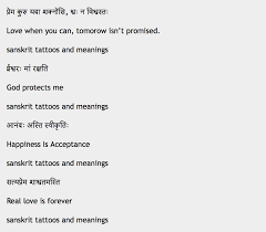 http sanskrittattoo info list of sanskrit tattoos with