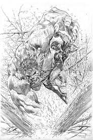 hulk fan art hulk vs wolverine by ardian syaf the 5
