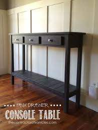 Diy Console Table Plans by Richard Sofa Entry Hall Table Entry Hall Table Entry Hall And
