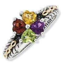 children s birthstone rings for mothers 107 best sterling silver mothers rings images on