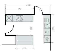 plan de cuisine avec ilot central dessiner un plan de cuisine en ligne cethosiame plan plan cuisine