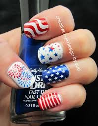 227 best 4th of july nails images on pinterest 4th of july nails