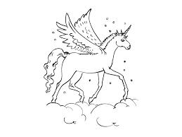 33 dessins de coloriage Licorne à imprimer