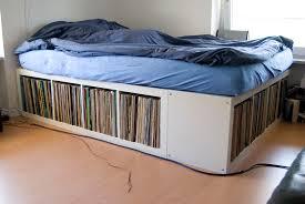 Shelf Bed Frame Bed Frames With Storage Type Ideas Bed Frames With Storage King