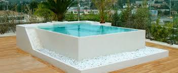 built in tub square 4 seater mosaic horizon clair