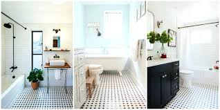 bathroom black and white classic black and white tiled bathroom floors are making a huge