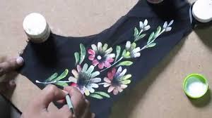 learn online fabric painting courses part 6 of 8 by prasanta kar