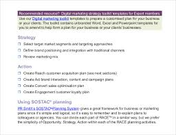 digital marketing strategy template u2013 11 word excel pdf ppt