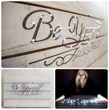 Letter Wall Decor Letter Wall Decor With Led Lights 7 Steps With Pictures
