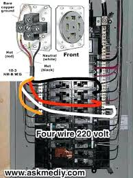home electrical wiring supplies how to install a volt 4 wire