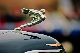 1934 cadillac 452d fleetwood convertible sedan ornament by
