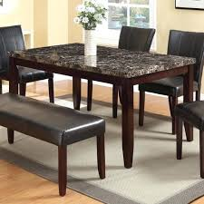 Banquette Furniture Ebay Marble Dining Table With Bench Faux Marble Dining Table Set On