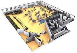 Design Home Gym Layout Fitness Center Design Layout Atlanta Fitness Facility Center