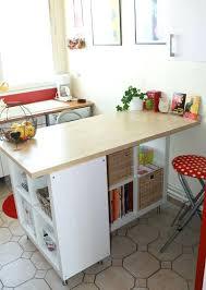 table bar rangement cuisine table cuisine avec rangement en de newsindo co