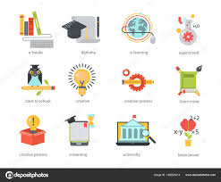 design online education distant learning flat design online education video tutorials staff