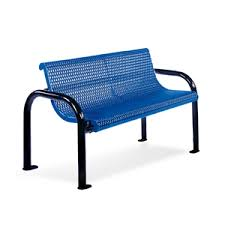Pvc Bench Seat Plastisol Coated Steel Pvc Benches Ultra Collection