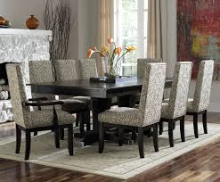 faux leather dining room chairs full size of leather dining table set black glass dining table