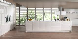 White Gloss Kitchen Cabinet Doors by Gloss Tierney Kitchens