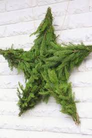 christmas moss wreath u0026 lit branch tree from modernmountaindesign