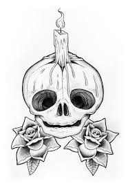 baby skull candle by liquid venom on deviantart