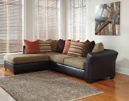 Ashley Raf Sofa Sectional Ashley 2020216 67 Armant Mocha Sectional Cheny Furniture Chicago