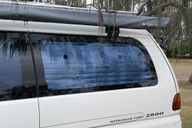 diy blockout curtains for our delica campervan comfortably lost