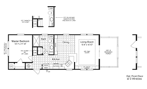 moble home floor plans the sunset cottage i 16401b manufactured home floor plan or