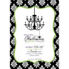free printable scary halloween invitations