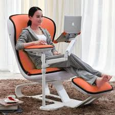 Ergonomic Recliner Chair Ergonomic Chair Com Recliner Wth Laptop Tablet Arms Ec03